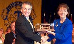 Jim Receives Golden Gavel Award